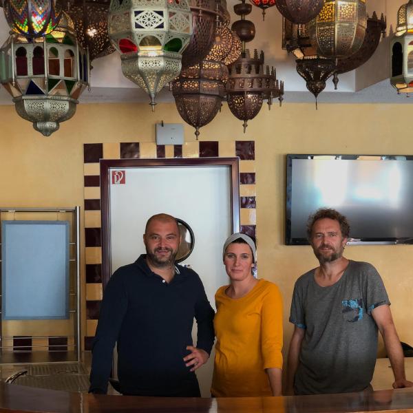 KücheBar68 Casablanca Bar Wellness Schwimmbad Quadrium Wernau